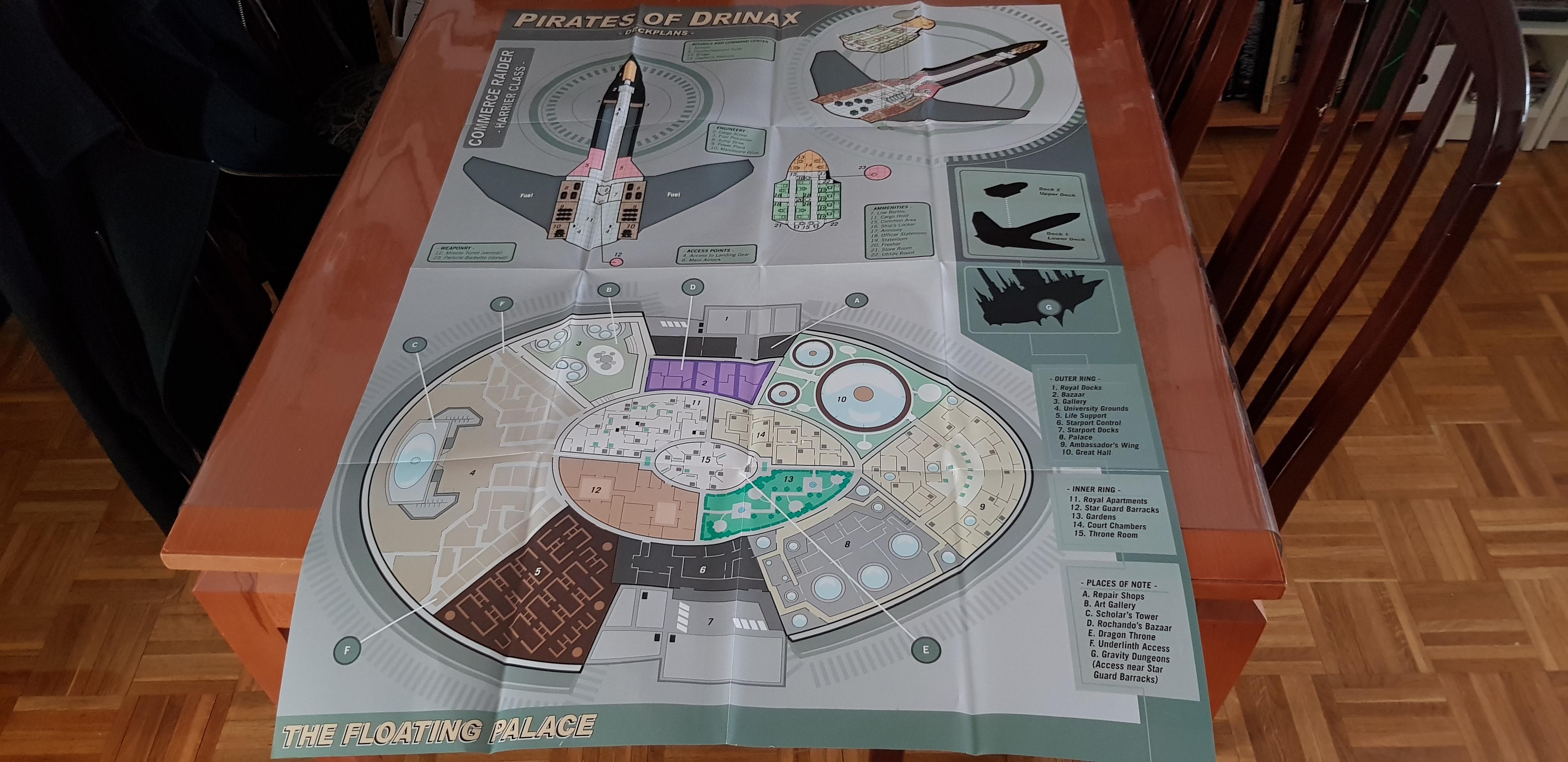 El Harrier y el palacio flotante